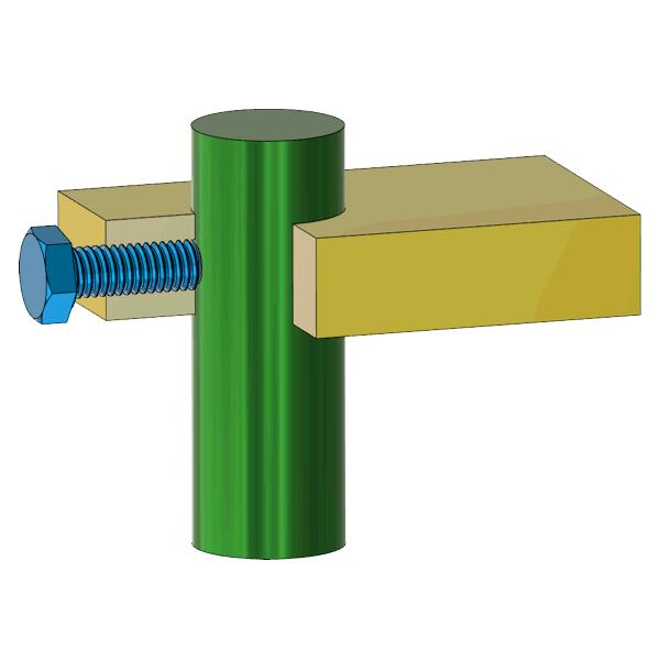 Klemmverbindung Konstruktionsbeispiele wie Bauteile geklemmt werden ...