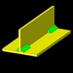 konstruktionsvarianten blech verbindung t f rmig aus zwei. Black Bedroom Furniture Sets. Home Design Ideas
